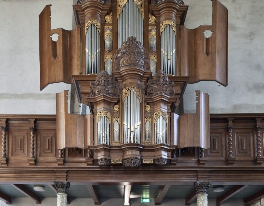Workum: concert op beide orgels