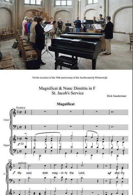St. Jacob's Service in première op 14 november
